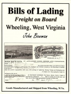 Book Cover, Bills of Lading Freight on Board Wheeling, W. Va. - Copy